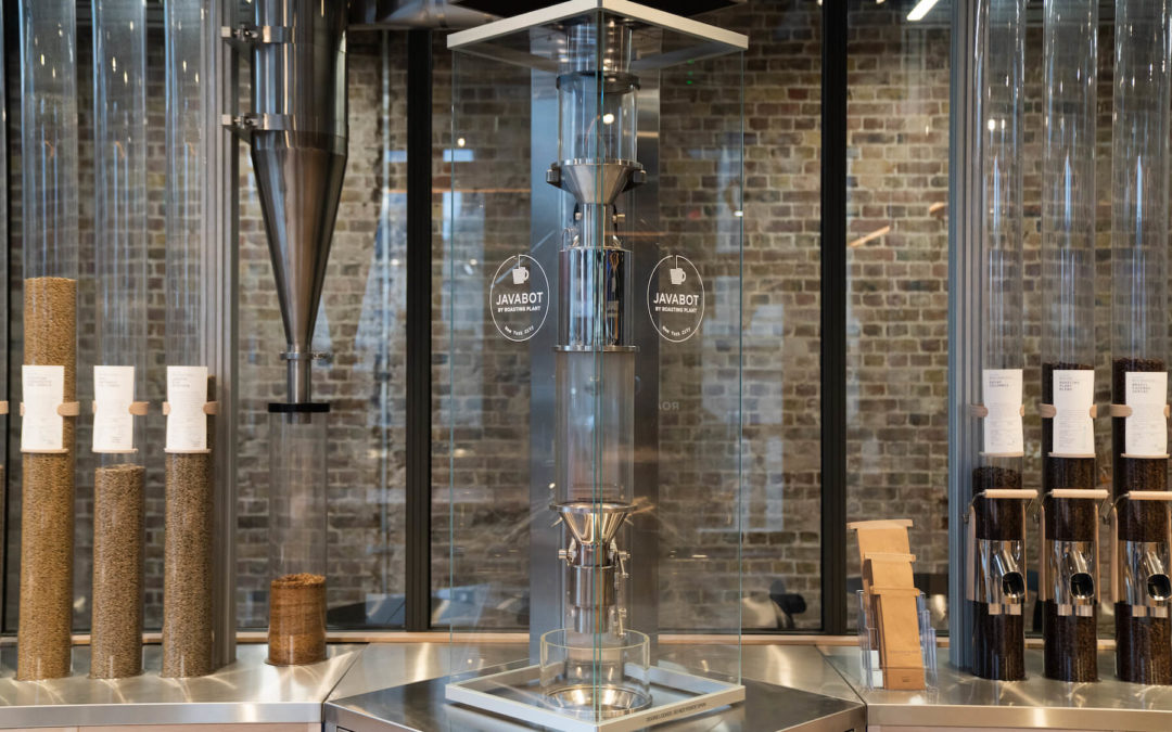 Roasting Plant Javabot London coffeeshop