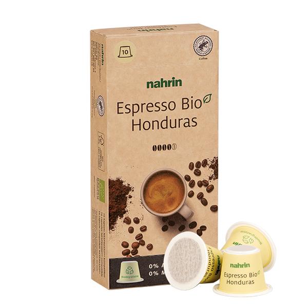 Nahrin biodegradable Kaffee Kapseln
